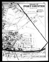 Port Chester and East Port Chester Right, Westchester County 1881