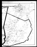Scarsdale and White Plains Townships Right, Westchester County 1881