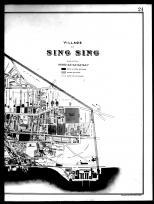 Sing Sing - Right, Westchester County 1893
