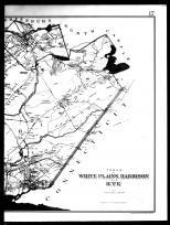 White Plains, Harrison and Rye Townships and Rye - Right, Westchester County 1893