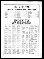 Index, Westchester County 1901