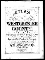 Title Page, Westchester County 1901