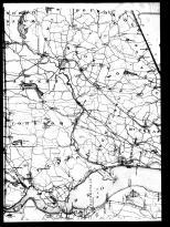 Westchester County Outline Map Left, Westchester County 1901