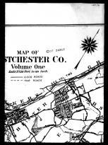Westchester County Map - Above Middle a, Westchester County 1914 Vol 1 Microfilm