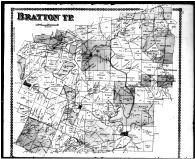 Bratton Township, May Hill, Louisville, Marble Furnace, Louden, Adams County 1880