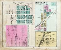 Buckland, New Knoxville, New Paris, Auglaize County 1880