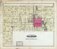 Jackson Township, Minster, Loramic Reservoir, Auglaize County 1880