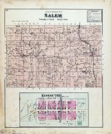 Salem Township, Kossuth, Auglaize County 1880