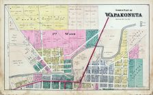 Wapakoneta - North, Auglaize County 1880