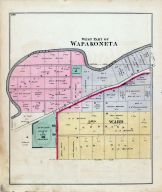 Wapakoneta - West, Auglaize County 1880