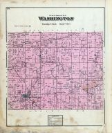Washington Township, New Knoxville, Auglaize County 1880
