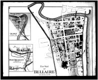 Bellaire 1, Lloydsville, Florence, Quincy, West Brooklyn - Above, Belmont County 1888