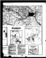 Flushing Township, Shepherdstown, Rock Hill, Sewellsville, Holoway - Right, Belmont County 1888