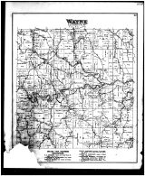 Wayne Township, Hunter, New Castle, Belmont County 1888