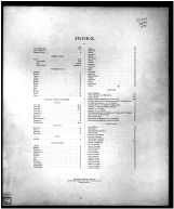 Index, Butler County 1888