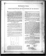 Introduction and Description of System of Survey, Butler County 1888