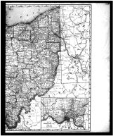 Ohio State Map - Right, Butler County 1888