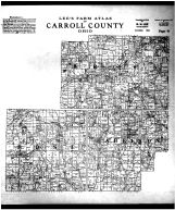 Brown, Rose and Harrison Townships, Carroll County 1915
