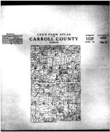 Monroe and Orange Townships, Carroll County 1915