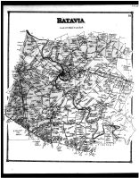 Batavia Township, Centreville, Olive Branch, Amelia, Clermont County 1870