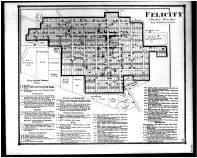 Felicity, Felicity Business Directory, Clermont County 1870