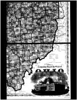 Ohio State Map - Below Right, Clermont County 1870