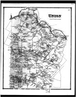 Union Township, East Liberty, Mount Carmel, Willowville, Tobasco, Withamsville, Clermont County 1870