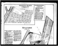 Milford, South Milford, Steeles Subd'n, Harmon's Subd'n., Above, Clermont County 1891