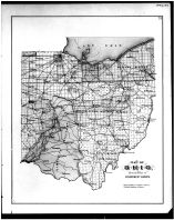 Ohio State Map, Clermont County 1891