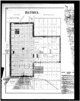 Tate Township, Wiggonsville, Salt Air, Brownsville, Maple, Bethel, Bantam, Pin Hook - Left, Clermont County 1891