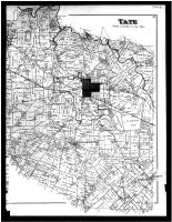 Tate Township, Wiggonsville, Salt Air, Brownsville, Maple, Bethel, Bantam, Pin Hook - Right, Clermont County 1891