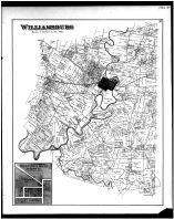 Williamsburg Township, Hennings Mills, Concord, Clover, Afton, Clermont County 1891