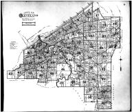 Index Map - City of Cleveland, Cuyahoga County 1892