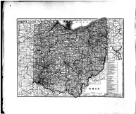 Ohio State Map, Cuyahoga County 1892