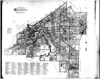 Reference Map - Cleveland Buildings, Cuyahoga County 1892