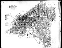 Reference Map - Cleveland Paved Streets, Cuyahoga County 1892