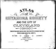 Title Page, Cuyahoga County 1892