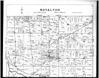 Plate 056 - Royalton Township, North Royalton P.O., West View - Above, Cuyahoga County 1903