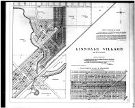 Plate 108 - Linndale Village, Rockport Allotments - Below, Cuyahoga County 1903