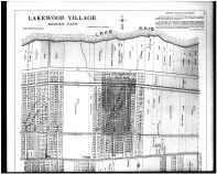 Plate 132 - Lakewood Village Middle - Above, Cuyahoga County 1903