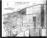 Plate 136 - Lakewood Village West - Above, Cuyahoga County 1903