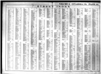Index of Streets, Cuyahoga County 1914 Vol 3