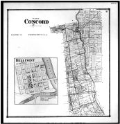 Concord Township, Bellpoint, Cutlers Corn's, Delaware County 1866