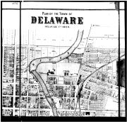 Delaware - Above Middle, Delaware County 1866