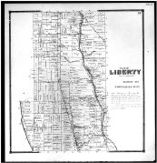 Liberty Township, Powell, Delaware County 1866