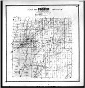 Porter Township, East Liberty, Olive Green, Kingston, Centre P.O., Delaware County 1866