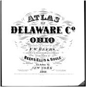 Title Page, Delaware County 1866