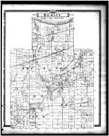 Berlin Township, Ceylon, Berlin Heights Village, Berlinville, , Erie County 1896