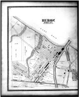 Huron, Venice, Ceylon, Beattys Tract - Left, Erie County 1896