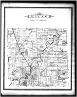 Milan Township, Erie County 1896